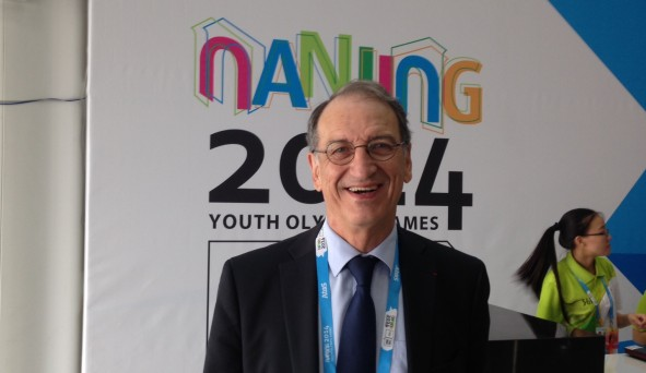 Denis Masseglia has doubts about the impact of Nanjing 2014 on the Youth Olympics ©CNOSF