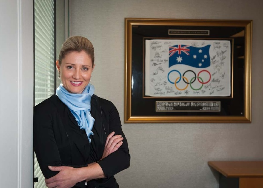 Fiona de Jong has been appointed secretary general of the Australian Olympic Committee ©AOC
