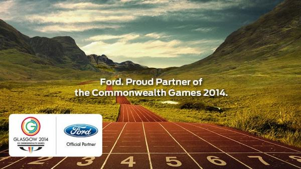 Ford have been one of the lead sponsors of Glasgow 2014 ©Ford
