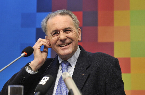 Former IOC President Jacques Rogge has spoken optimistically about Nanjing 2014 ©Getty Images