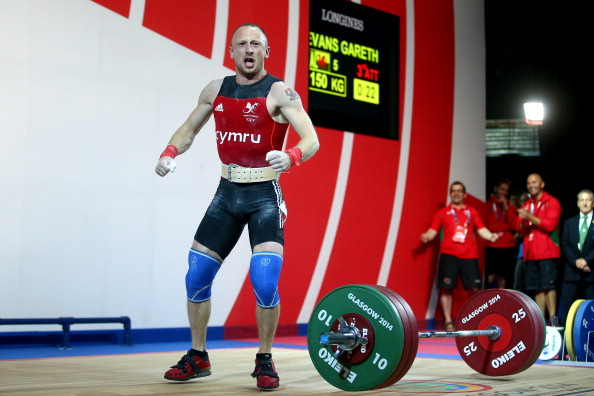 Gareth Evans finished 5th in the under 62kg category in Glasgow ©Getty Images