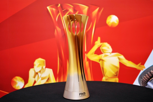 The FIVB Men's World Championship trophy has been stolen while on display in Rio de Janeiro ©FIVB