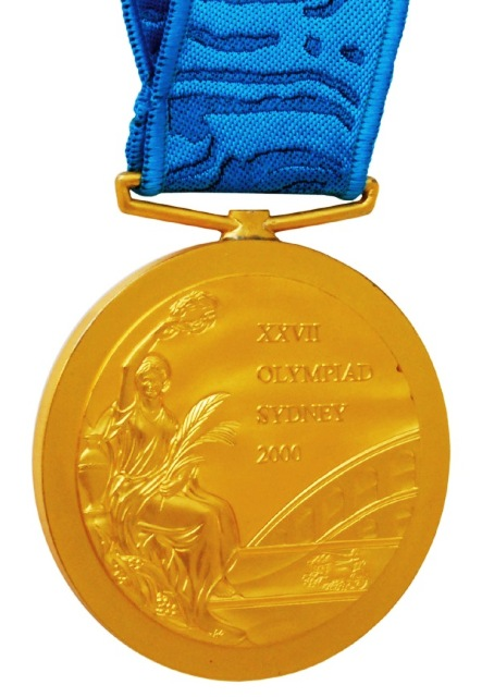 Baker's Sydney 2000 gold medal has a starting price of $35,000 (£20,800/€26,000) ©Gerry Flannel Auctions
