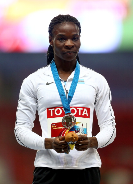Amantle Montsho has been provisionally suspended after failing a doping test ©Getty Images