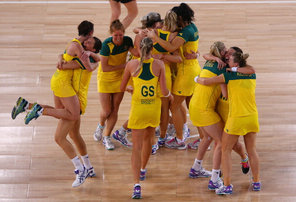 Australia have secured gold in the netball competition on the final day of action at Glasgow 2014 ©Getty Images