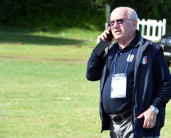 Carlo Tavecchio is at the centre of a racism row after allegedly calling African players banana eaters ©Getty Images