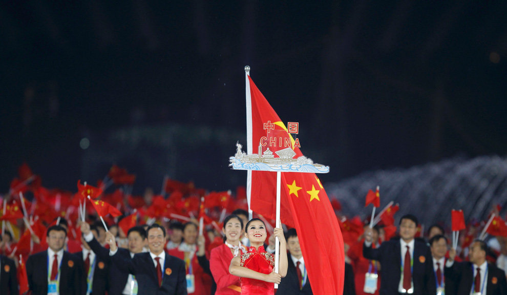 China, who have topped the Asian Games medals table at every event since 1982, will a delegation of nearly 900 athletes to Incheon 2014 ©AFP/Getty Images
