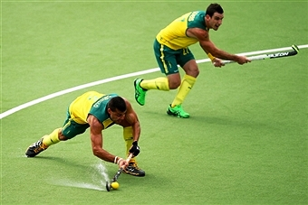 Chris Ciriello was on deadly form as he bagged three goals to help Australia claim a fifth Commonwealth Games gold ©Getty Images