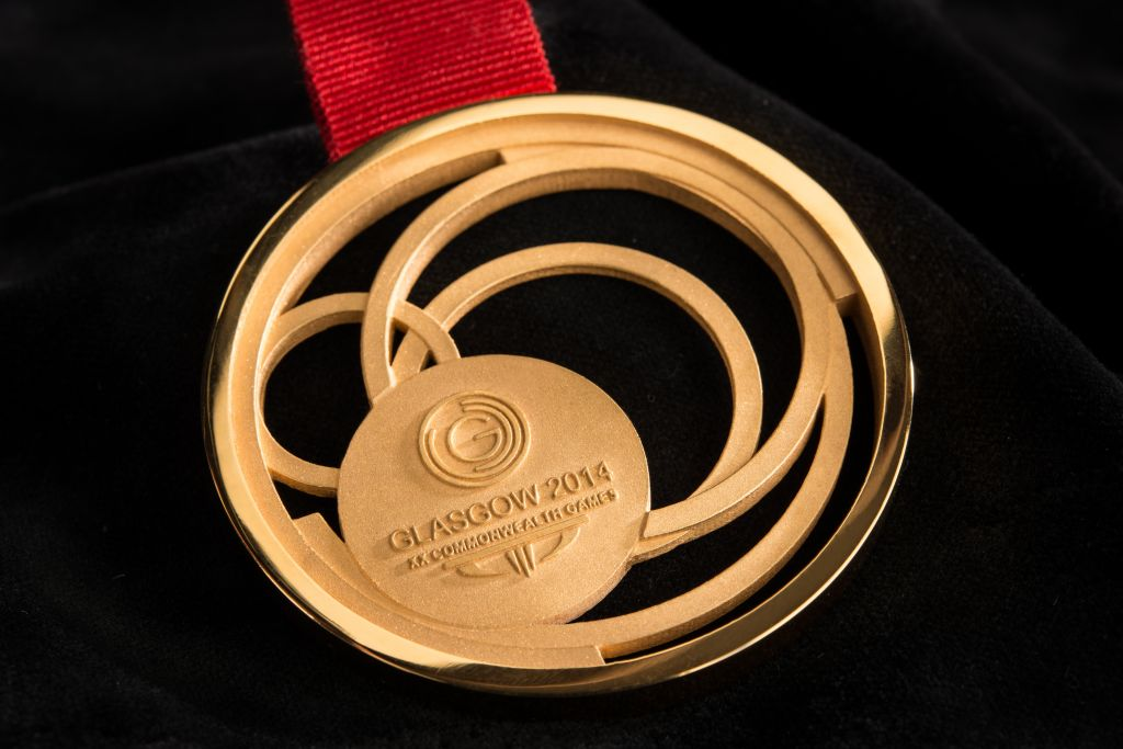 Glasgow 2014 gold medal