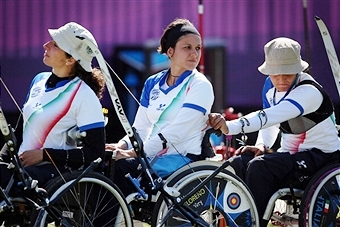 Italy emerged as the top nation nation at the European Para-Archery Championships winning five medals including three gold ©Getty Images