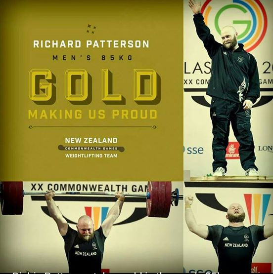 Richie Patterson will be New Zealand's Flasgbearer for this evening's Closing Ceremony ©Facebook