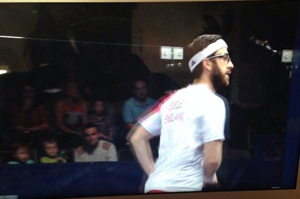 Squash star Daryl Selby of England ©Twitter