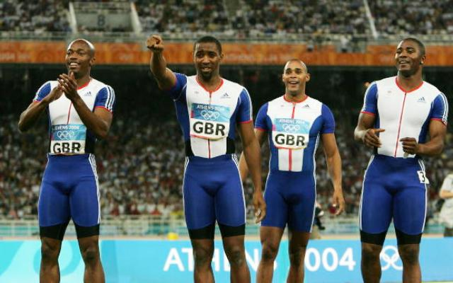 The British men's 4x100m gold medal winning relay team will help launch a month-long volunteering relay in London ©Getty Images