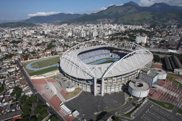 The João Havelange Stadium will stage the final test event for athletics on May 16 ©AFP/Getty Images