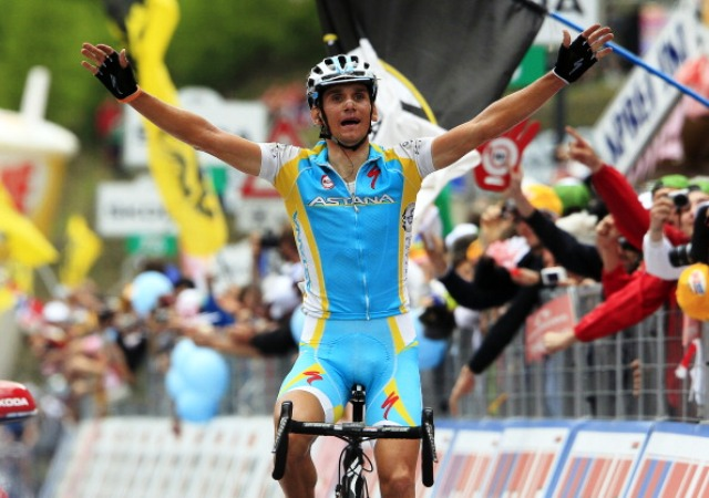 The UCI is investigating blood readings of Roman Kreuziger from 2011 and 2012 during which time he won a stage of the Giro d'Italia in 2012 ©AFP/Getty Images
