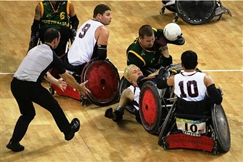 The big guns of Australia and the United States are conducting final preparations ahead of the Wheelchair Rugby World Championships ©Getty Images