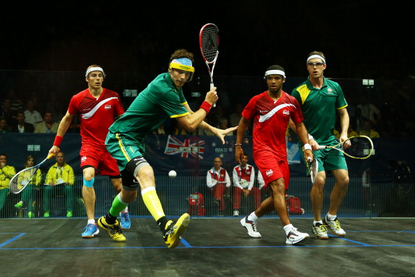 The last gold medal of the Games is up for grabs in the squash doubles ©Getty Images