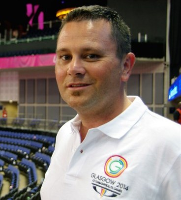 Glasgow 2014 head of sport Greg Warnecke is joining the 2017 World Masters Games in Auckland ©2017 World Masters Games