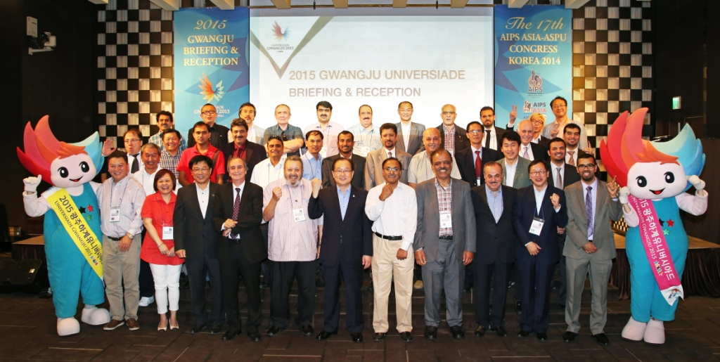 Gwangju 2015 has briefed Asian sports journalists on the Universiade preparations ©Gwangju 2015