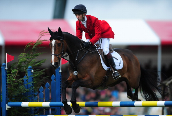 Harry Meade and Wild Lone will compete on the British team at the 2014 World Equestrian Games ©Getty Images