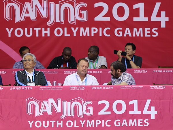 IJF President Marius Vizer believes the quota for judoka should be increased at the Youth Olympic Games ©IJF