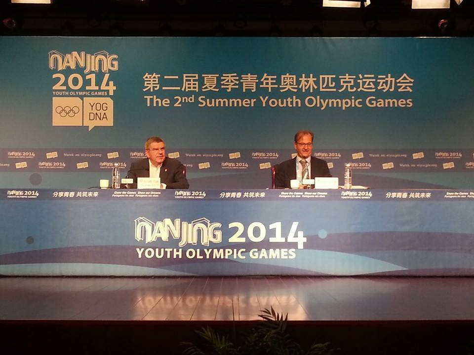 IOC President Thomas Bach reiterated his confidence that problems with accessing the internet at Nanjing 2014 will be resolved soon ©ITG