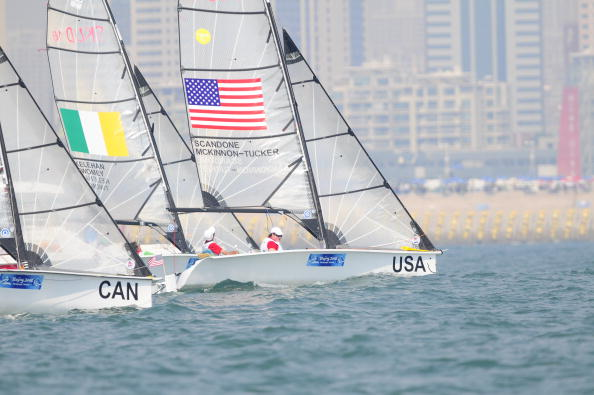It is all to play for at the International Federation for Disabled Sailing Combined World Championships, with Rio 2016 qualifying spots at stake ©Getty Images