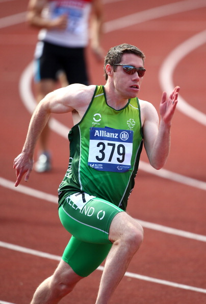 Jason Smyth has completed the sprint double at the International Paralympic Committee Athletics European Championships ©Getty Images