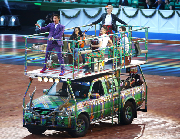 The 4x4 used by John Barrowman during the Opening Ceremony of the Commonwealth Games is among the items currently being auctioned off by Glasgow 2014 ©Glasgow 2014