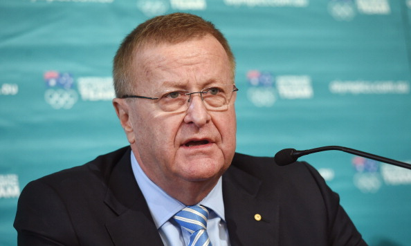 John Coates has urged athletes to cooperate with anti-doping authorities if they want to be picked for the Australian team ©AFP/Getty Images