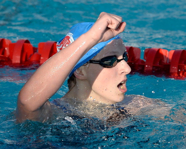 Katie Ledecky has broken the 400 metres freestyle world record ©Getty Images