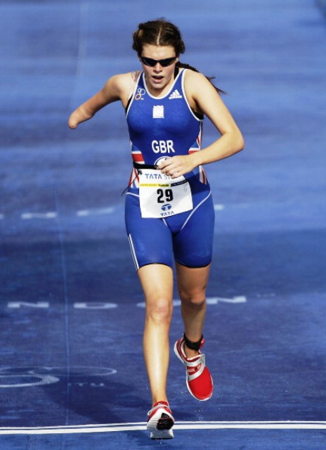 Lauren Steadman headed an all-British podium in the PT4 class ©Getty Images