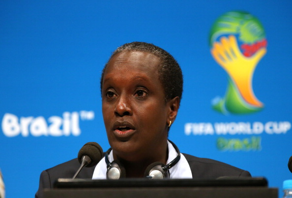Lydia Nsekera, a member of FIFA's Executive Committee, has lost her position as head of the Burundi Football Association ©AFP/Getty Images