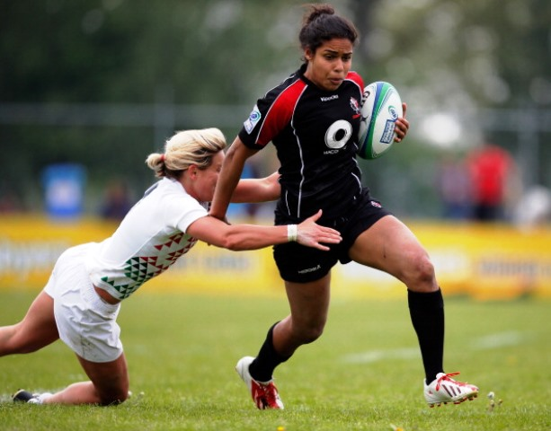 Canadian Magali Harvey has been named as the IRB Women's Player of the Year ©Getty Images