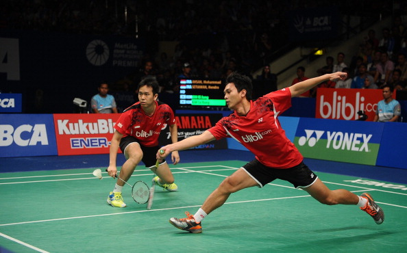 Mohammad Ahsan and Hendra Setiawan will not compete at the 2014 Badminton World Championships ©Getty Images