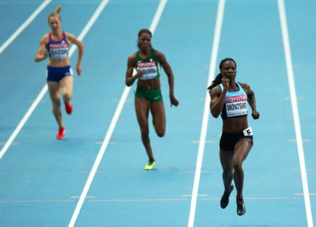 Montsho is a former World Championship and Commonwealth Games gold medallist ©Getty Images