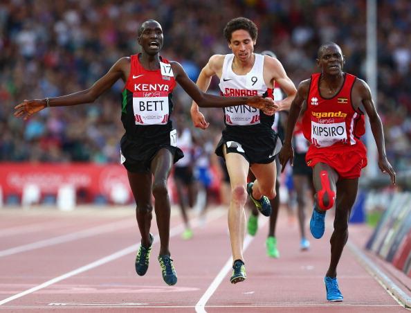 Moses Kipsiro of Uganda wins gold ©Getty Images