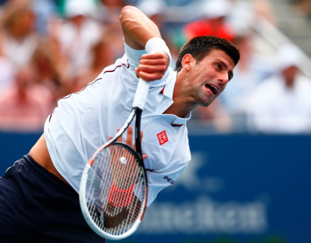 Novak Djokovic cruised through to round four of the US Open with a straight sets win ©Getty Images