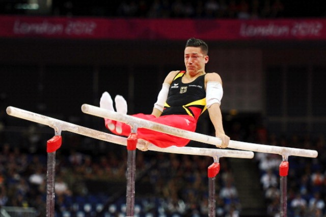 Olympic silver medallist Marcel Nguyen could be among 250 athletes representing Germany at next year's European Games in Baku ©Getty Images