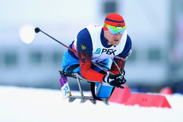 Paralympic and world champion Roman Petushkov will be one of the stars appearing at the Cable 2015 IPC Nordic Skiing World Championships ©Getty Images