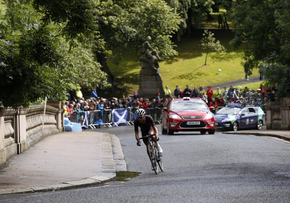 Pete Kennaugh of the Isle of Man is still leading the road race