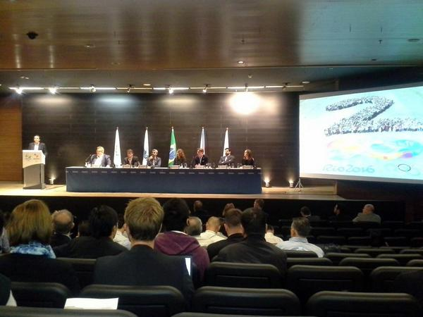 Presentations have taken place today to emphasise the progress being made by Rio 2016 ©Rio 2016