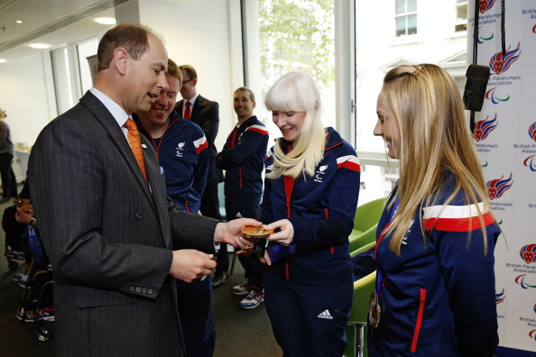 Prince Edward will attend National Paralympic Day at the Queen Elizabeth Olympic Park later this month ©Getty Images