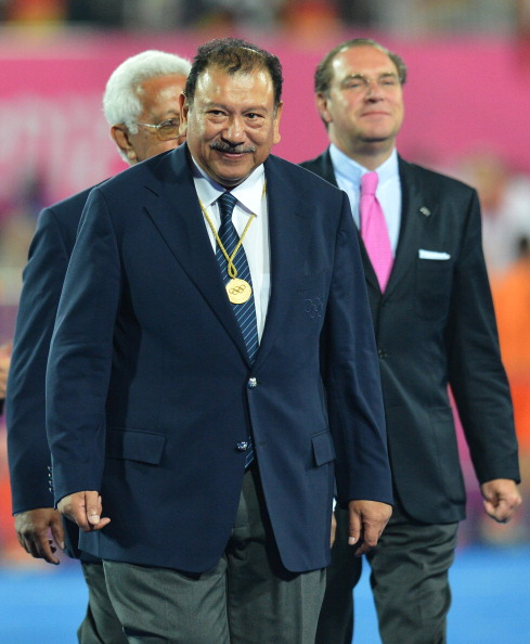 """Prince Tunku Imran """"survived"""" the ice bucket challenge ©AFP/Getty Images"""