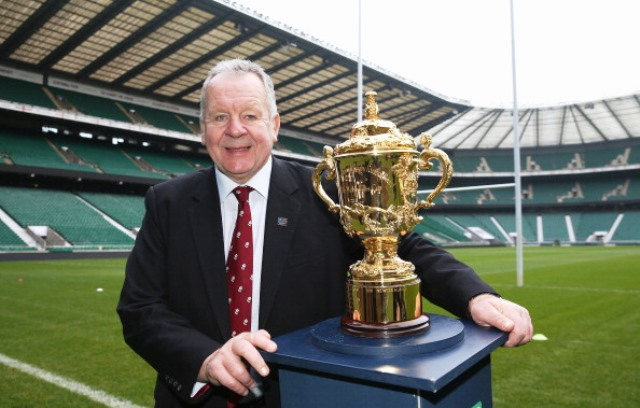 RFU chairman Bill Beaumont will speak in London ahead of England's hosting of the Rugby World Cup next year ©Getty Images