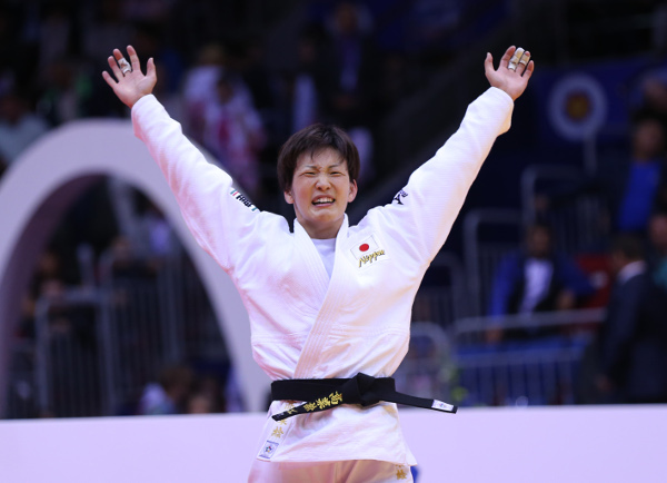 Riki Nakaya claimed Japan's fourth gold medal of the 2014 World Judo Championships ©IJF