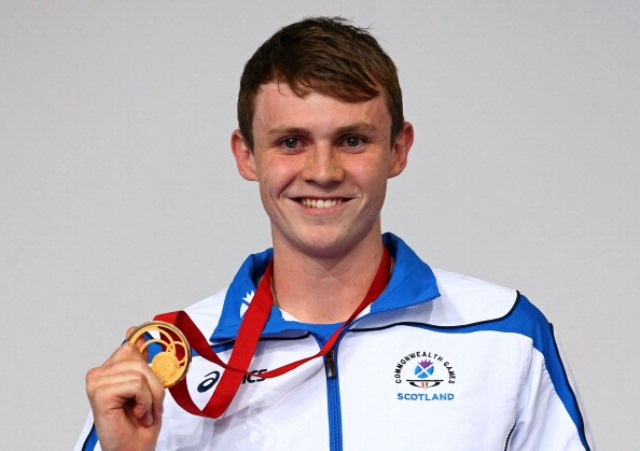 Ross Murdoch announced himself on the international stage with gold in the 200m breaststroke in Glasgow ©Getty Images