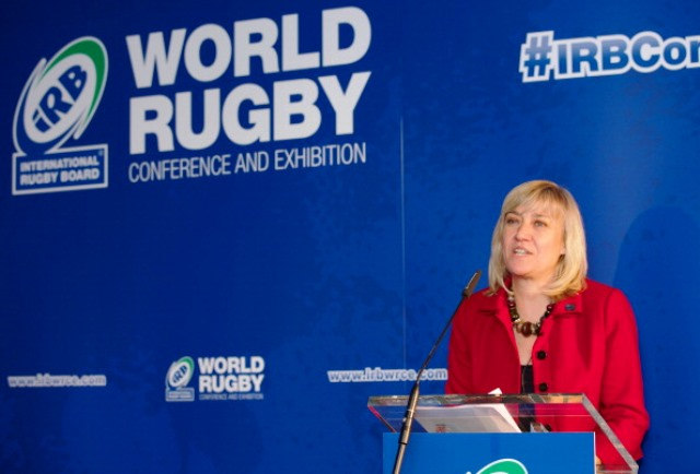 Rugby World 2015 chief executive Debbie Jevans will address deleagates at the second IRB World Rugby Conference and Exhibition in London ©Getty Images