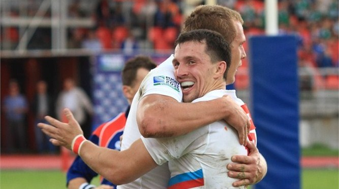 Russia remain in with a chance for a place at the 2015 Rugby World Cup after beating Zimbabwe 23-15 in their Repechage semi-final in Krasnoyarsk ©International Rugby Board