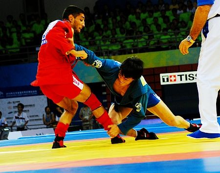 Sambo is described as an explosive mix of judo, jujitsu and wrestling ©SportAccord